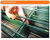 China manufacture 3d wire mesh fence 1830mm x 2500mm mesh opening :50mm x 200mm diameter 5.00mm company