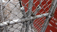 15m Length 150cm Height Pvc Coated Garden Temporary Chain Link Fence supplier