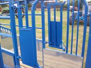 Durable cattle panel, cattle gates, oval rail yard equipment 1.2-2.5mm thickness supplier