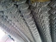 Pvc Coated Cyclone Wire Chain Link Fence 1.5mm To 5.00mm  Diameter Woven Mesh