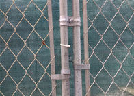 "6'x12' temporary chain link fence steel tubing 1½""(38mm) 1⅗""(40mm) mesh 	2""x2""/(50mm x 50mm) 2¼""x2¼""(57mmx57mm) 2⅜""x2⅜"""