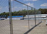 "8'x12' tubing 1⅜""(35mm) x 16ga thickness chain link us standard temporary fencing 13ga/2.3m diameter supplier"
