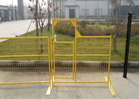 "Temporary Construction Fence Panels for Canada standard 6'x9.5' 8'x9.5' mesh spacing4""x12' x 9 gauge wire supplier"