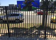 Australia Standard Four Welds Crimped Spear Top Fence with ISO 9001Certification