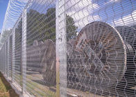High Density 358 Prison Wire Fence High Security ,Top With Razor For Africa Market supplier