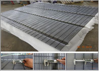 Securifor 358 wholesale barbed wire on top for Ultra 358 mesh security fencing(China manufacture)