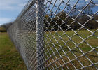 "Chain link fence. 6' height 9 gauge 2"" diamond. 1.2oz zinc requirement 50 foot roll supplier"
