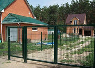 Manufacture PVC Coated Military Anti-Climb 1830mm x 2500mm 4 v fold 100mm section mesh fence supplier