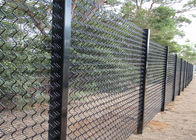 High security Wire Fence Panels Anti cut climb Powder Coated RAL 9010 supplier