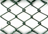 chain link wire mesh fence PVC coated
