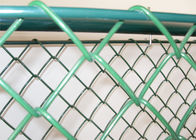 "hot dipped galvanized chain wire mesh fence  2"" x 2"" mesh opening supplier"