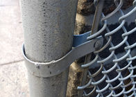 "8 ft x 50ft width chain link fabric mesh diamond mesh 2.5""x2.5"" 11.5ga wire diameter supplier"
