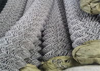 "Zinc coated chain link fabric 6ft x 100ft with selveage kunckled 11GA/2.95mm 2""x2"" supplier"