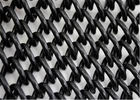 "3/8""X3/8"" high security  11GA/2.95mm diameter chain link mesh fabric hot dipped galvanized 366gram/sqm 8ft x 50ft"