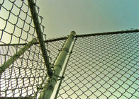 Dipped Galvanized Chain Link Fence With 35-300G per Square Meter Zinc Coating; PVC Coated Chain Link Fence supplier