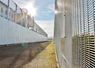 Center distance 76.20mm x12.70mm 358 prison security welded wire mesh fence supplier