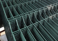 China 6 Gauge,2 inch x 6 inch,1.8 m x 2.4 m,Three peak curved welded wire mesh fence panel factory