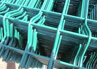 2030mm x 2500mm Wire Fence Panels High Quality With V beams ,RAL 6005 coated Dark Green supplier