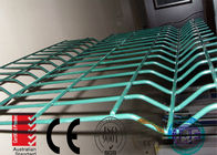 manufacture 3d wire mesh fence 1830mm x 2500mm mesh opening :50mm x 200mm diameter 5.00mm