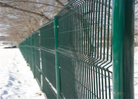 Black Galvanized Wire Mesh Fence supplier