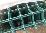 1530MM NYLOFOR 3D wire mesh fence panels RAL 6005 PVC Coated ,and double leaies gates made in china supplier