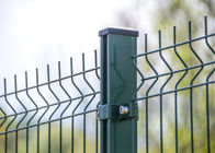 3D Mesh Fence Panels used Nylofor 3D fence with powder painted smooth surface 2030mm x 2500mm