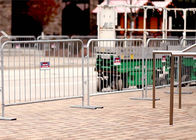 Rio Olympic games(2016) pre-galvanized Crowd Control Barriers Made In China Top Fence supplier