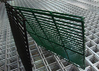 (manufacturer) Powder Coated Twin Wire Welded Mesh /Double Wire Mesh Fence Panels supplier