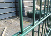 1630mm x 2500mm twin wire fence 868mm high rigidity fence panels Mesh 50mm x 200mm supplier