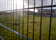 656 ,868mm twin wire fence rather rigidity ,Hot Dipped  Galvanized Then Powder Coated