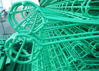 Double rings roll top fence wire mesh roll up fence made in China supplier