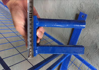 "H6'/1830mm*W9.5'/2900mm tubing 1""/25mm *2.0mm thick with middle brace 3/4""/ 20mm *1.0mm temporary construction fence"