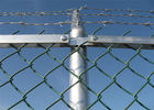 HDG chain link fence Hot-sell chain link diamond wire mesh fence supplier