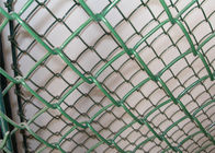 Professional Chain Link Fence cyclone wire fence roll 1.22m x 25m standard roll color green supplier