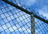 High quality yard guard chain link fence/High quality used galvanized/pvc coated chain link fence supplier