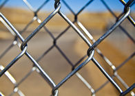 High Security PVC Coated Galvanized Chain Link Fence supplier