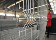 Weld Wire Mesh Fence 2430mm x 3000mm V fold Available hot dipped galvanized powder coated Mesh 50mm x 200mm Dia :5.00mm supplier