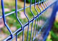cheap welded wire mesh curved fence / high security fence panels / garden fence wire fencing supplier