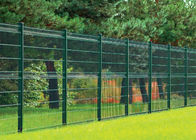 PVC Coated Wire Mesh Fence Panels, 1230mm ,1530mm , 1830mm, 2030mm,2230mm with Curved /V beams Anti Climb Mesh Fence Pan supplier