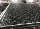 "Hot dipped Galvanized 366gram/SQM Chain Link Fence Panels 6'x12' Tube 1.4""/35mm tube mesh 2.5""x2.5"" 11ga wire"