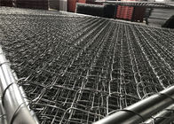 "Chain Link Fence Panels Hot dipped To Be 366gram/sqm tube 32mm wall thickness 15ga and chain mesh 2"" x 2"" x12ga diameter supplier"