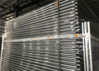 low price 2.1mx2.4m temporary fencing panels AS4687-2007 design for melbourne market OD32mm*1.8mm and diameter 3.8mm