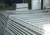Chain Wire Construction Fencing Panels 1830mm*2950mm OD 35mm cross brace wall thick 1.6mm