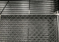 "Temporary Construction Fencing Panels 1-⅜"" tube vertical brace Chain Link Fence Panels 6'/8'/4' Height supplier"