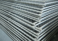 Construction Chain Link Fence Panels ASTM 396 standard Hot dipped Galvanized and Pregalvanized supplier