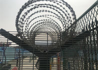 358 high security wire fence 12.7mm x 76.20mm diameter 3.00mm/4.00mm powder coated RAL 9001 supplier