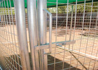 Weld Wire Dog Kennel 1.8mx2.5m x 2.5m OD32mm wall thickness 1.5mm with covered cloth hot dipped galvanized