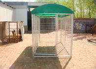 Dog Kennel 1800mm x 2500mm x 2500mm with top cloth Full hot dipped galvanized
