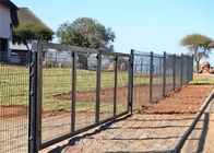 358 wire fence panels 2.2m height x 2.5m mesh aperture 76.2mm x 12.70mm 2d fence panels 3.00mm diameter