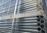 42mm tube 2.1m height 2.4m width temporary fencing panels materials q195 nelson temporary fence
